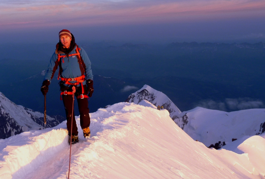 High On The Ascent Of Mont Blanc - This Is Where Your Training Pays Off...
