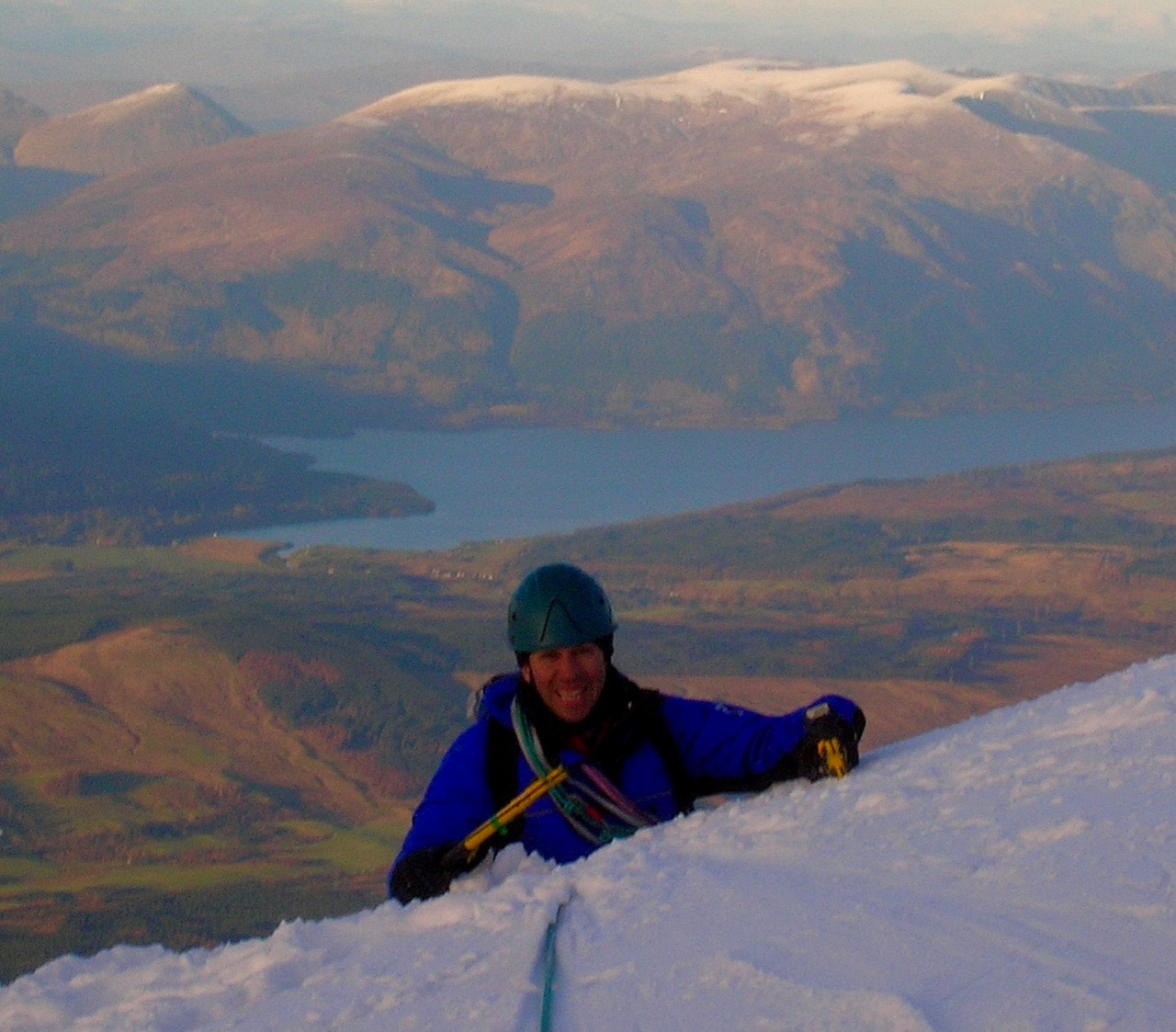 Topping Out On The Tower Ridge, North Face Ben Nevis
