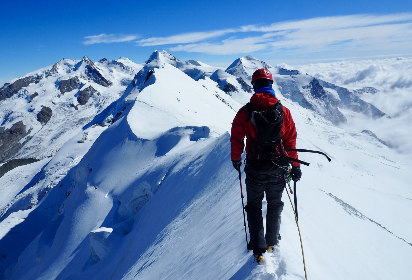 Alpine Mountaineering Breithorn Traverse