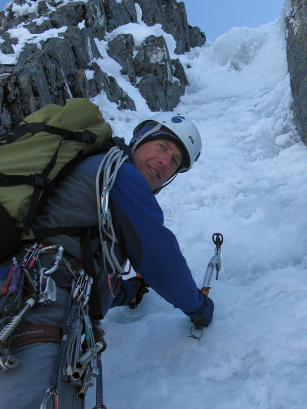 Rob Jarvis Winter Climbing On Ben Nevis