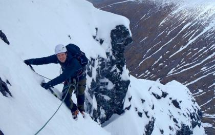 Alpine Training On Ben Nevis