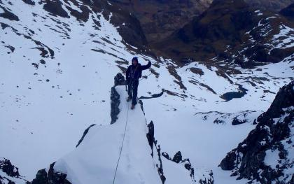 Alpine Training In Glencoe