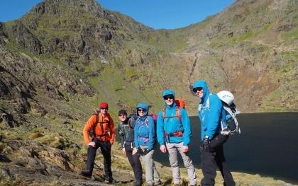 Mont Blanc Training Team - Llyn Glaslyn, Snowdonia