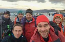 Team Matterhorn Training In The Northern Cairngorms, Feb 2017