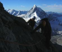 South Ridge, Dent Blanche, Swiss Alpine Mountaineering
